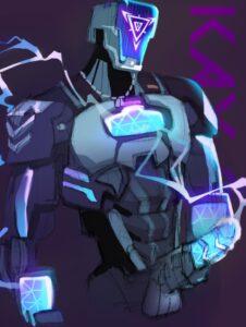 kay/o-sex-art-–-anthro,-robotic-arm,-fingers,-screen-face.