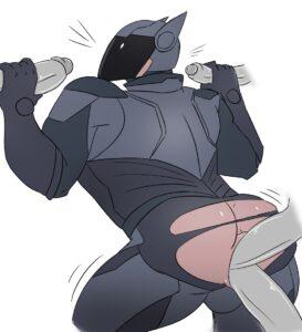 fortnite-game-porn-–-brute-navigator,-male-only,-double-penetration,-muscle,-handjob,-helmet.