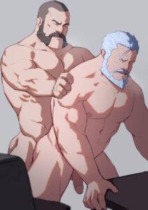 reinhardt-hot-hentai-–-muscular-male,-censored,-sex,-moustache,-character-request,-muscular.