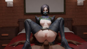 viper-free-sex-art-–-green-eyes,-reverse-cowgirl-position,-anal.