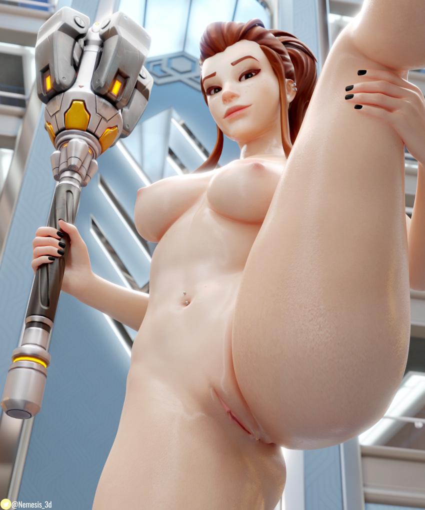 overwatch-hentai-xxx-–-fit-female,-raised-leg,-ls,-shiny-skin,-big-breasts.