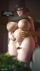 mei-sex-art-–-artwork),-bbw,-cum-in-pussy,-thick-thighs.