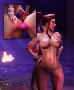 overwatch-game-porn-–-exposed-ass,-rst,-nude,-from-behind,-brigitte,-dva.