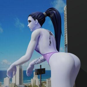 overwatch-xxx-art-–-female,-widowmaker,-breasts,-solo-focus,-swimsuit.