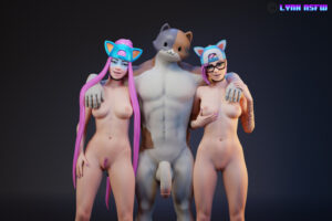 alli-game-porn,-lynx-game-porn,-meowscles-game-porn-–-lynxnsfw,-penis,-nude-male.