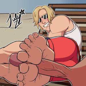 fortnite-game-porn-–-belt,-artist-signature,-red-shorts,-toenails.