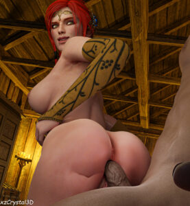witcher-rule-witch,-the-witcher-d-projekt-red,-nude-female,-naughty-face,-female,-riding.