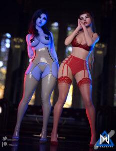 overwatch-rulex-–-brigitte,-widowmaker,-thick-thighs,-tape,-nipple-tape,-stockings.