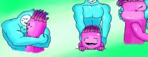 fortnite-hentai-art-–-pecs,-oral,-muscles,-video-games,-male,-goo-creature.
