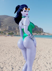 overwatch-hentai-xxx-–-wide-hips,-thick-thighs,-looking-at-viewer,-big-ass,-looking-back.