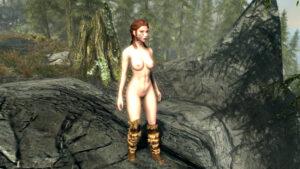 skyrim-xxx-art-–-warrior,-viking,-female-only,-blue-eyes,-pussy.