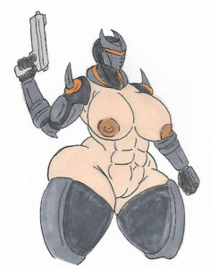 oblivion-game-hentai-–-epic-games,-big-breasts,-exposed-breasts,-firearm.