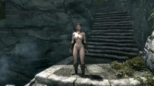 skyrim-rulern-–-castle,-weapon,-yuri,-ass,-red-hair.