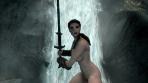 skyrim-rulex-–-female,-white-body,-yuri,-the-elder-scrolls,-female-only,-archer,-amazon.
