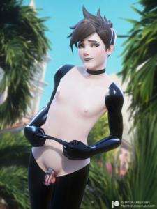 overwatch-game-porn-–-fjaye,-goth,-choker,-nipple-piercing,-earrings.