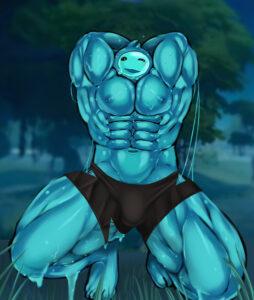 fortnite-game-hentai-–-epic-games,-smile,-glistening-body,-muscular-male,.