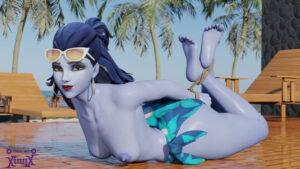 overwatch-game-hentai-–-widowmaker,-vinny-arts,-hogtied,-breasts,-sunglasses,-sunglasses-on-head,-eyewear-on-head.