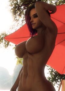 overwatch-rule-medium-breasts,-dark-skinned-female,-abs,-big-breasts,-nude.