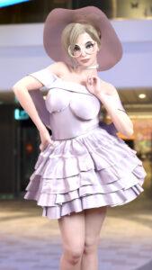 overwatch-hentai-art-–-dress,-thick-thighs,-hand-on-hip,-blonde-hair.