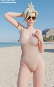 overwatch-rulex-–-mercy,-breasts,-pussy-visible-through-clothes,-sunglasses,-female,-thehounde,-blonde.