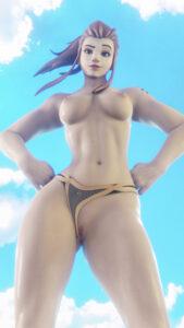 overwatch-hentai-porn-–-shiny-skin,-pussy,-brigitte,-panties-aside.
