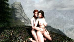 skyrim-free-sex-art-–-yuri,-the-elder-scrolls,-kissing,-sex,-red-hair,-nord.