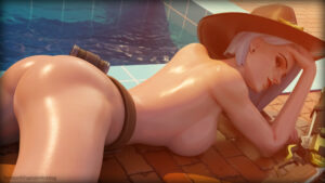ashe-sex-art-–-poolside,-exposed-breasts,-exposed-ass,-presenting-ass,-looking-at-viewer.
