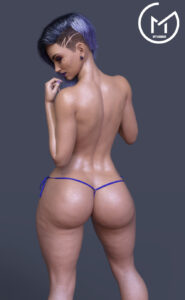 overwatch-hot-hentai-–-latina,-ass,-bikini-bottom,-solo,-purple-lipstick,-earrings,-3d.
