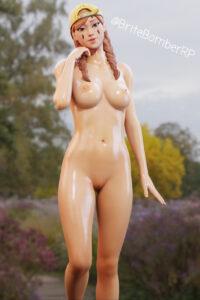 aura-game-porn-–-nude,-oiled.