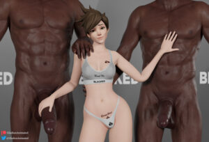 overwatch-rulern-–-hand-on-waist,-height-difference,-blacked,-black-penis,-smiling.