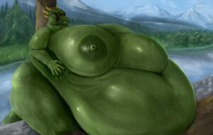skyrim-hentai-art-–-ssbbw,-fingers,-morbidly-obese-anthro,-morbidly-obese,-green-scales,-obese-female.