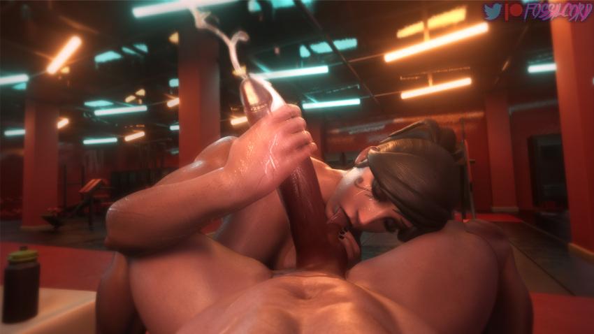overwatch-game-porn-–-ponytail,-eyeshadow,-pharah,-handjob,-faceless-male.