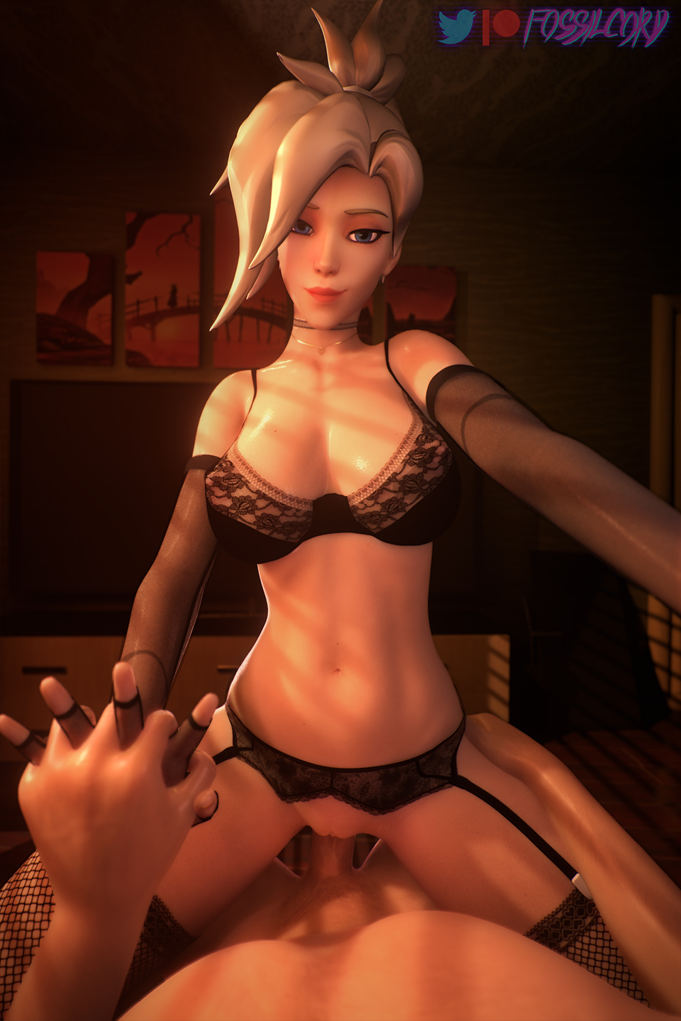 overwatch-game-porn-–-tied-hair,-pussy,-smile,-cowgirl-position.