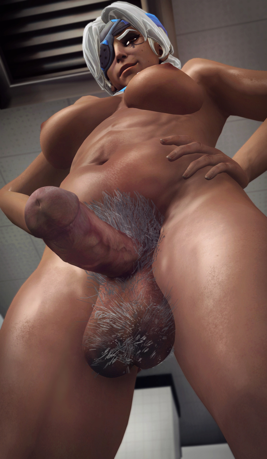 overwatch-porn-–-thighs,-futanari,-large-breasts,-hands-on-hips,-xnalara,-testicles.
