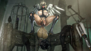 overwatch-hentai-–-blindfold,-penis,-testicles,-ball-gag,-futasub.