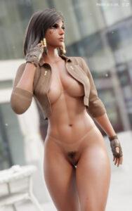 overwatch-porn-hentai-–-high-resolution,-clothing,-black-eyes,-jacket,-blender,-muscular-female,-pharah.