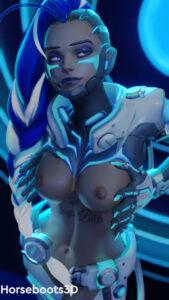 overwatch-hentai-art-–-blue-hair,-tattoo,-horsebootsblender-(software),-cyberpunk.