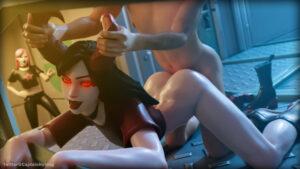 haze-hentai-xxx-–-captain-hotdog,-horn-grab,-sex,-glowing-eyes.