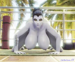overwatch-porn-hentai-–-widowmaker,-big-ass,-blue-skin,-hanging-breasts.