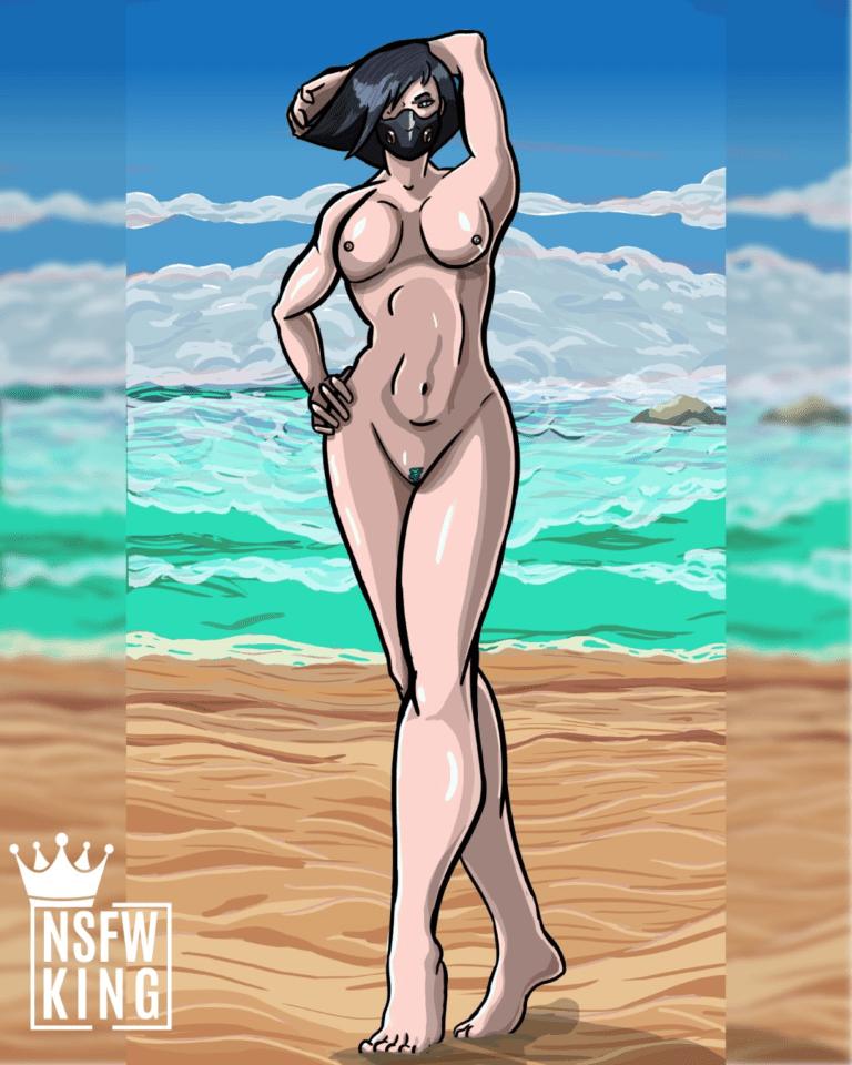 viper-at-the-beach-nude-(nsfwking7)