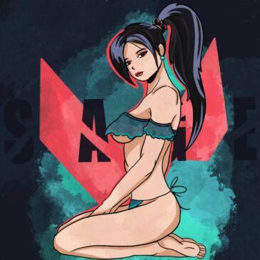 sexy-sage-on-her-knees-[mikafujiwarahh]