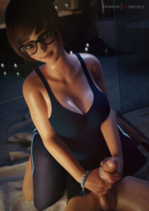 mei-game-porn-–-erection,-female,-huge-belly,-vgerotica.