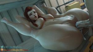 overwatch-game-porn-–-cumshot,-testicles,-calves,-brigitte,-thick-cum,-breasts,-nipples.