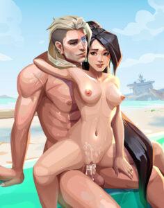 sage-sex-art,-sova-sex-art-–-riot-games,-hourglass-figure.