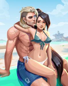 sage-rulex,-sova-rulex-–-riot-games,-side-tie-panties,-light-skin,-bikini,-l,-perky-breasts,.