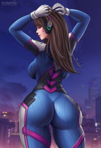 overwatch-rule-breasts,-female-only,-flowerxl,-solo,-dva,-ass,-big-ass.