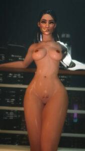 overwatch-sex-art-–-dark-skin,-hourglass-figure,-thick-thighs,-indian,-nude-female.