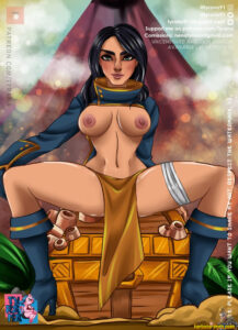 fortnite-sex-art-–-female-only,-breasts,-areolae,-tyrana,-solo.