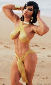 overwatch-rulern-–-muscular-female,-dark-skinned-female,-female.