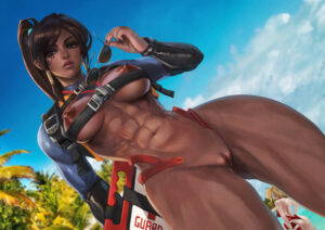 overwatch-rulex-–-solo,-muscular-female,-wide-hips,-lifeguard-pharah,-pharah,-breasts.